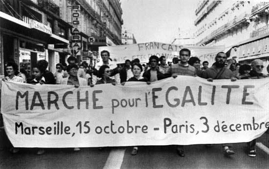 Illustration - La Marche des Beurs, 25 ans après