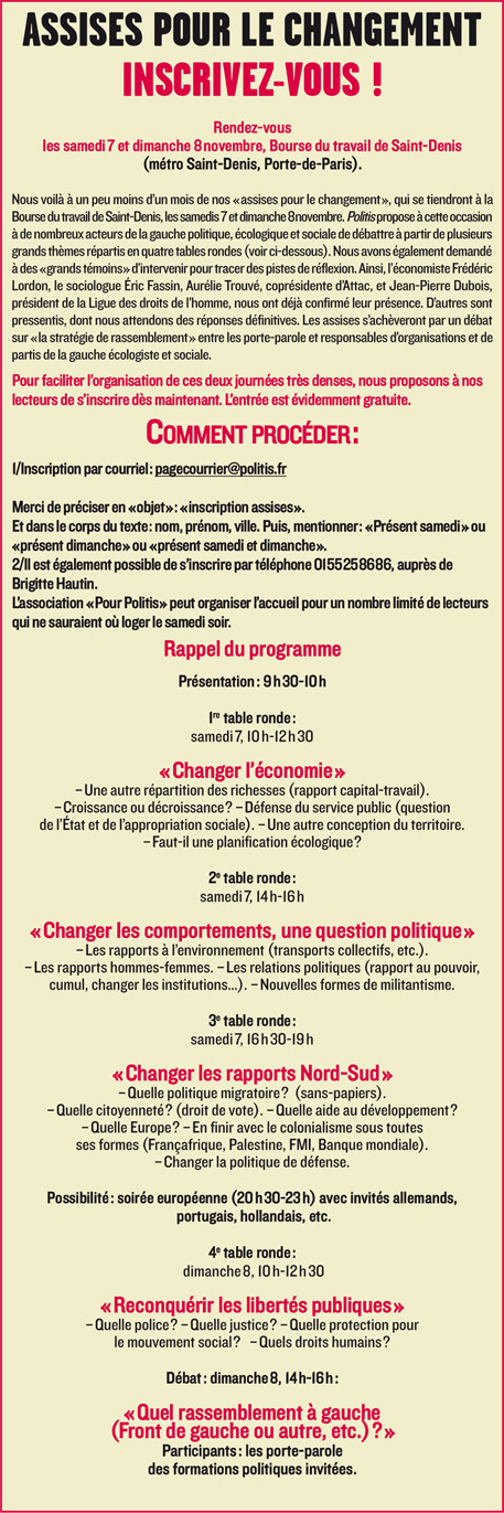 Illustration - Assises pour le changement, J-16