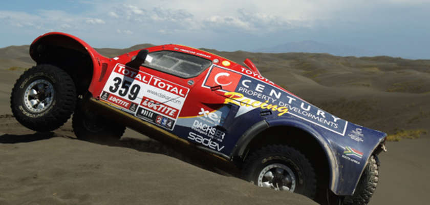 Hélas, le Dakar roule encore