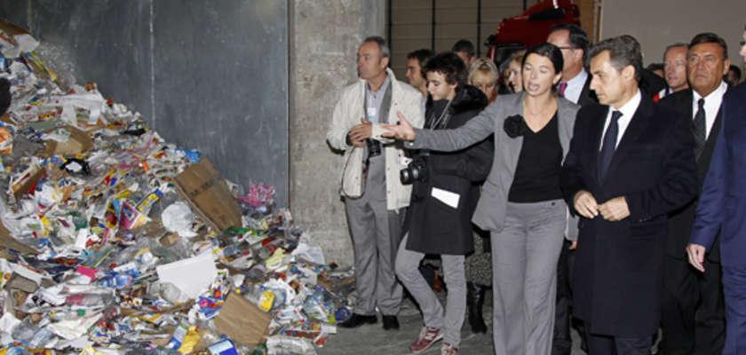 Quand Nicolas Sarkozy crache sur les écologistes