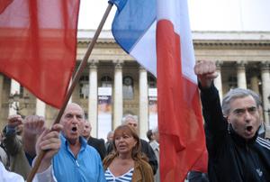 Rassemblement «contre l'offensive islamiste», le 4 septembre 2010 à Paris - AFP / Bertrand Langlois