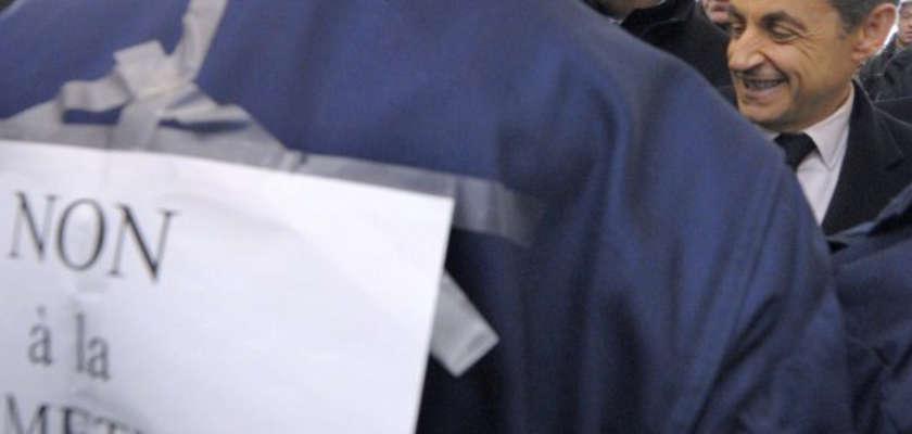 Sarkozy à Fessenheim : «On ne la fermera pas, cette centrale»
