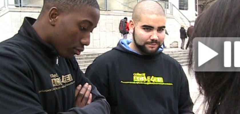 La tournée des militants des quartiers en vidéo