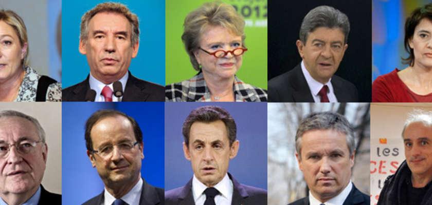 Présidentielle 2012 : ils seront dix candidats