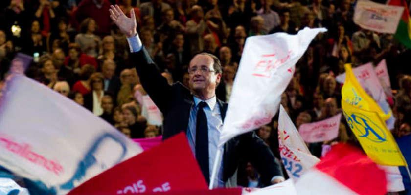À Bercy, François Hollande se pose en archi-favori