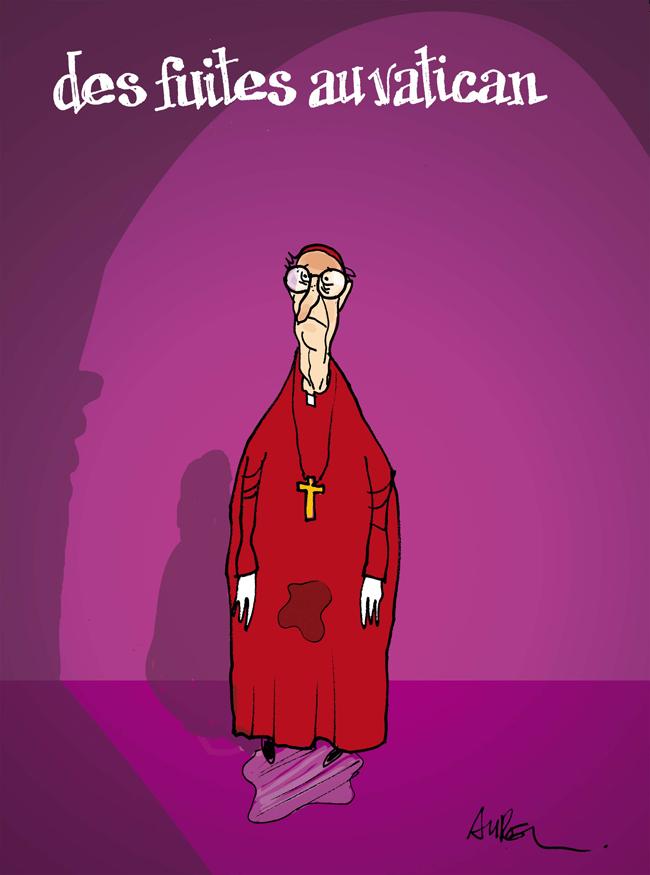 Fuites au Vatican