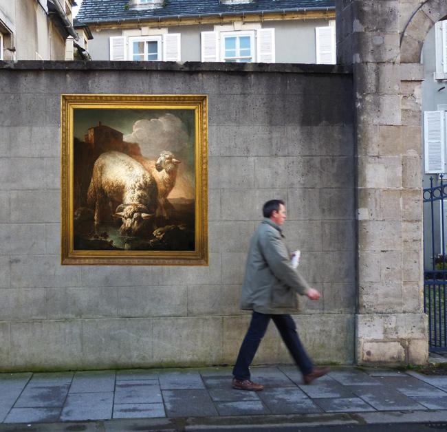 Illustration - Cherbourg-Octeville dévoile ses toiles dans la rue