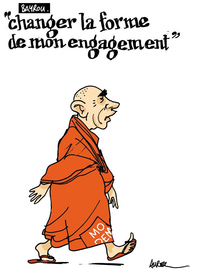 Le nouveau visage de François Bayrou