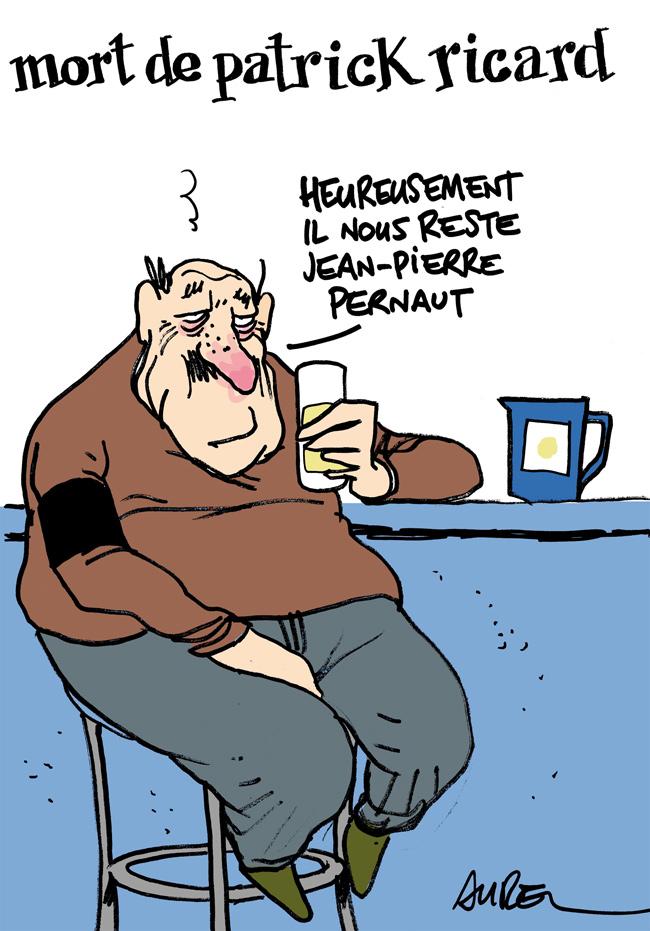Les dessins de la semaine : mort de Patrick Ricard et expulsions de gauche