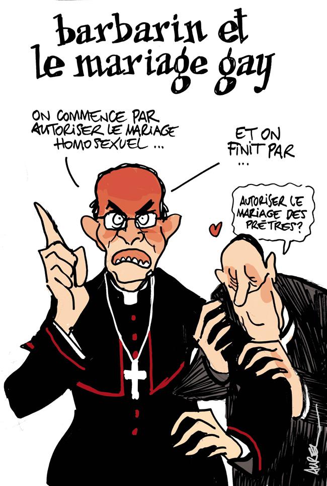Les dessins de la semaine : mariage gay et cumul des mandats