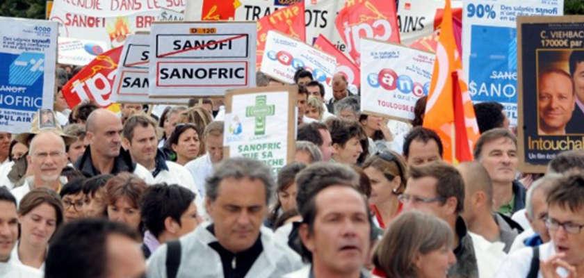 Sanofi : les salariés contre la purge