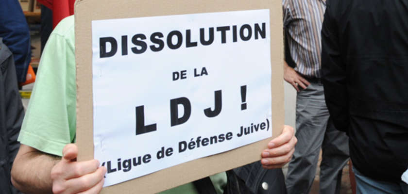 Les opposants à la Ligue de défense juive peinent à se faire entendre