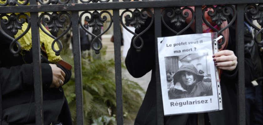 À Lille, les sans-papiers suspendent leur grève de la faim
