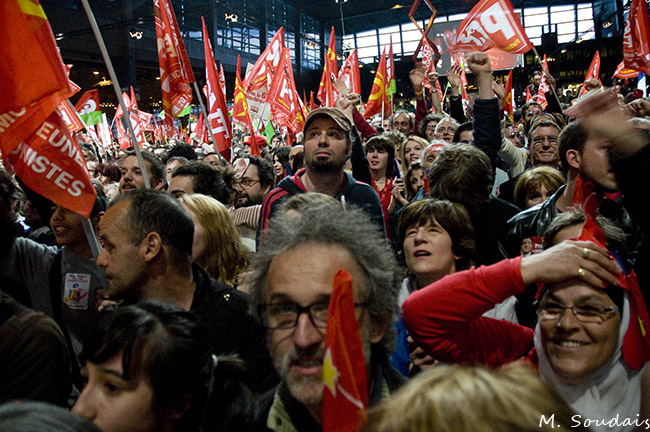 Illustration - Le Front de gauche à la croisée des chemins - Photo : M. Soudais