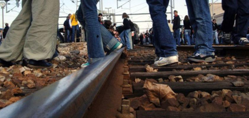Un militant condamné à 40000 euros de dommages pour avoir occupé une voie ferrée en 2006
