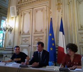 Mohamed Mechmache, François Lamy et Marie-Hélène Bacqué - E. Manac'h