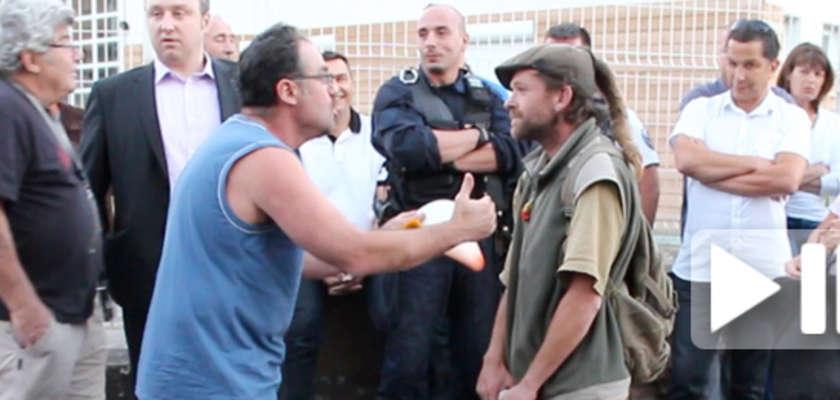 À Décines, les opposants au stade accueillent des Roms et soulèvent l'hystérie des riverains