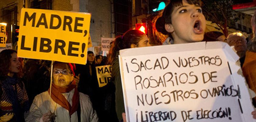 IVG : la protestation contre le projet de loi espagnol s'organise