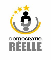 Le logo de «Démocratie réelle»