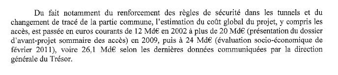 Illustration - Lyon-Turin: «Le projet ne sera jamais rentable et sera payé par les contribuables» - Référé sur le projet de liaison ferroviaire Lyon-Turin, 1eraoût2012