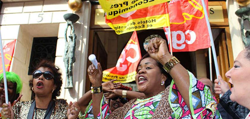 Remue-ménage au palace, les femmes de chambre sont en grève