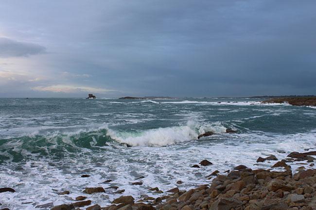 L'archipel des sept îles, vu de la côte. - Crédits : Lena Bjurström/Politis