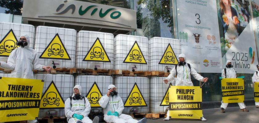 Pesticides: la saisissante étude de Greenpeace