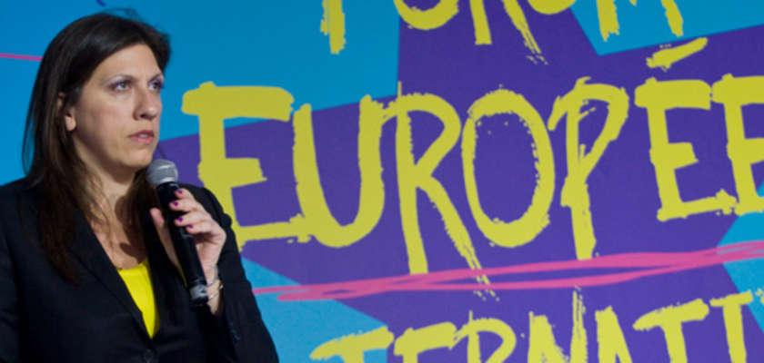 Zoé Konstantopoulou contre «un nouveau totalitarisme économique»