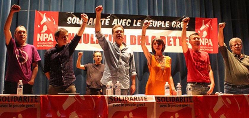 NPA : « La Grèce ne doit pas céder »