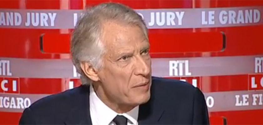 Villepin : «Faire croire que nous sommes en guerre est un piège»