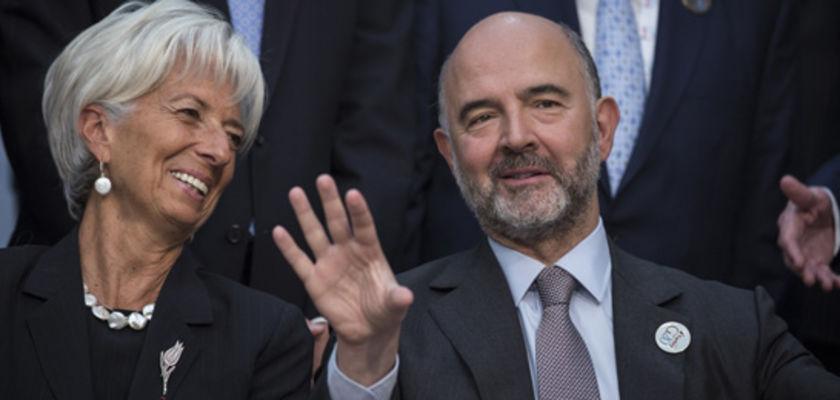 Pierre Moscovici pas contre une coalition droite-gauche en France