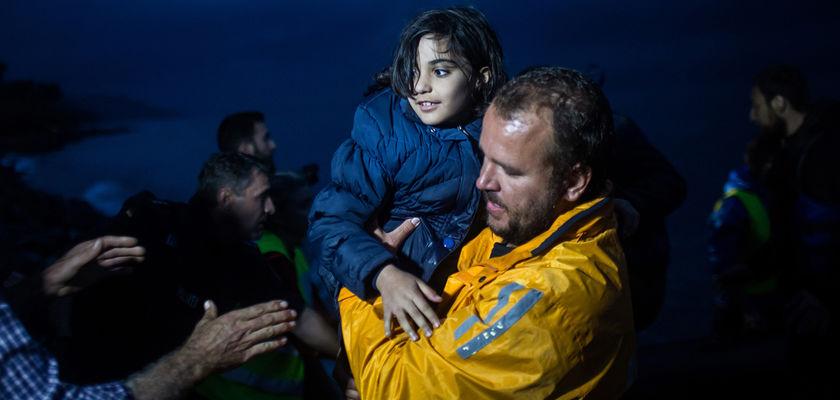 Crise des réfugiés : Les héros anonymes de Lesbos