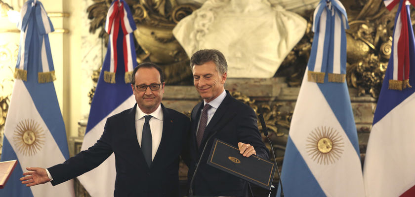 Hollande ultralibéral jusqu'en Argentine…