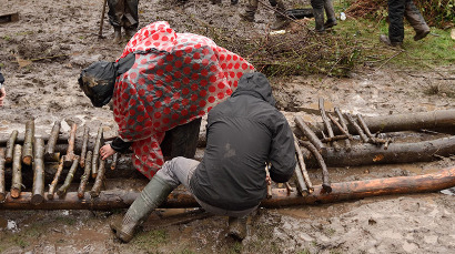 Sur la ZAD, « le peuple de boue »