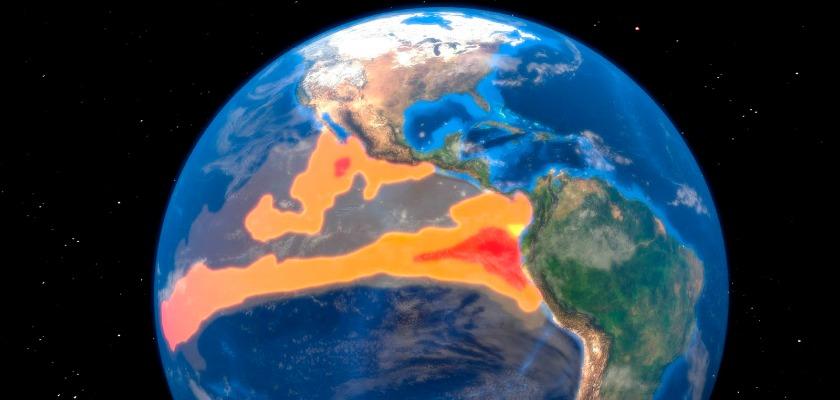 Record mondial de chaleur en février