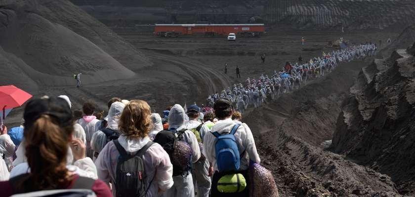 Ende Gelände : blocage d'une centrale à charbon, mode d'emploi