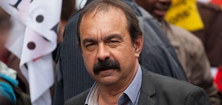 Philippe Martinez : «Une tentative de remise en cause du fait syndical»