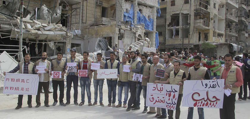 Syrie : Alep, ville martyre