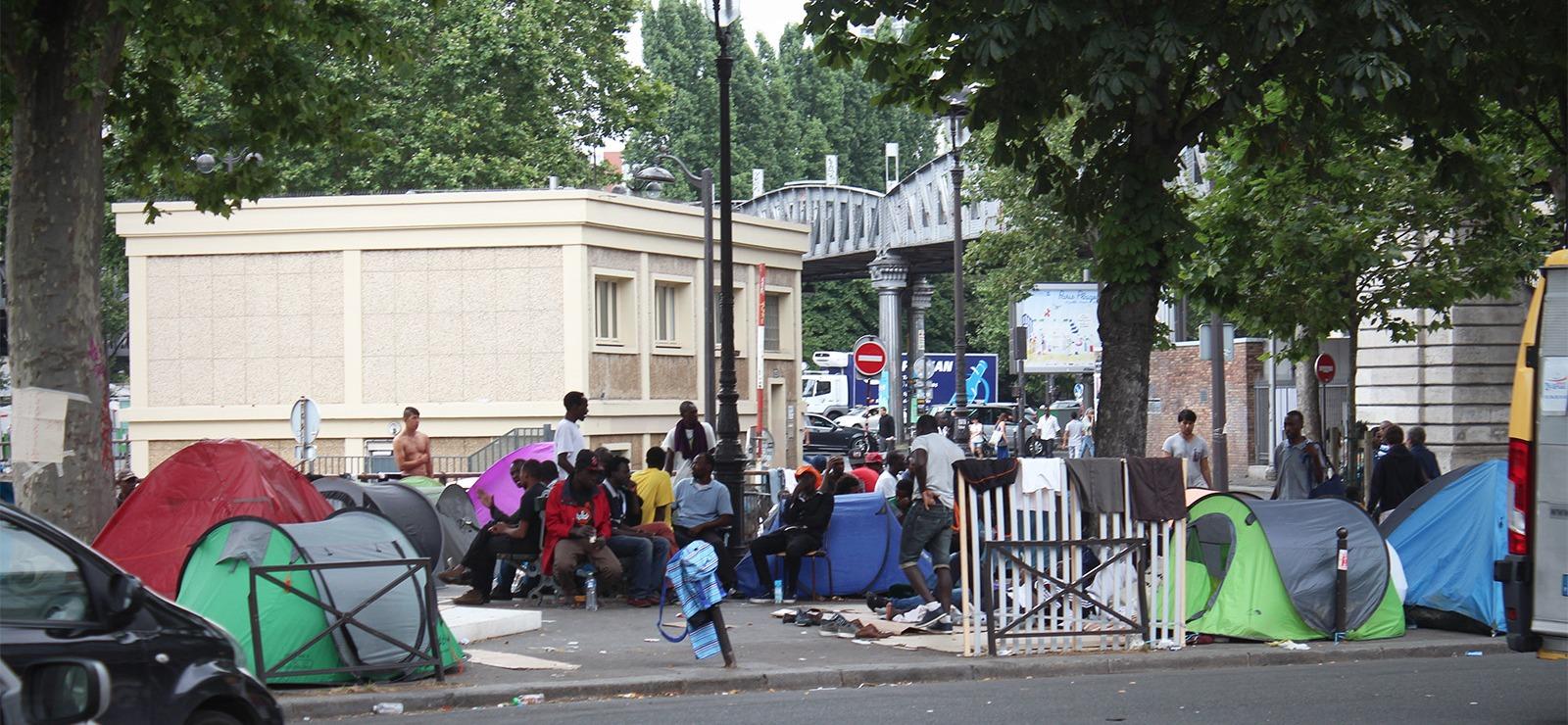 La détresse des migrants et une énième évacuation