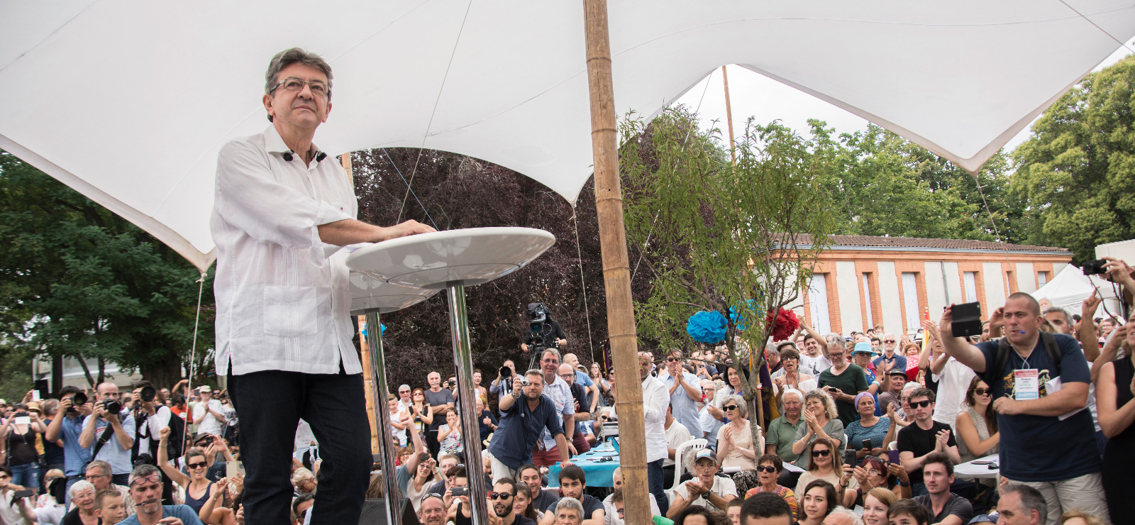 Mélenchon garde son optimisme