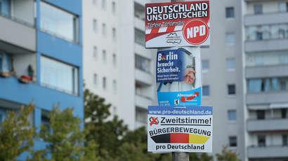 Allemagne : Poussée inédite de l'extrême droite