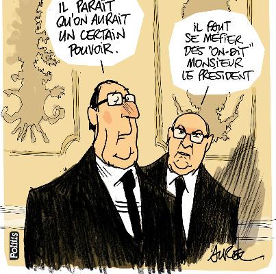 Les dessins de la semaine : François Hollande enfin président ?