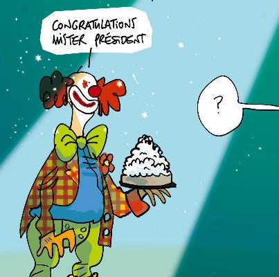 Les dessins de la semaine : Hollande homme d'État de l'année, Sarkozy homme d'influence