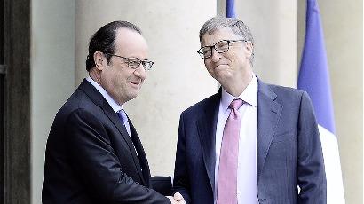 Numérique : Hollande soigne Bill Gates