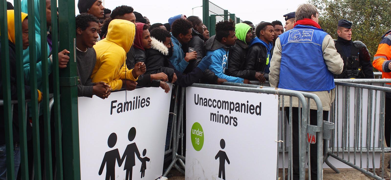 Clap de fin pour la jungle de Calais