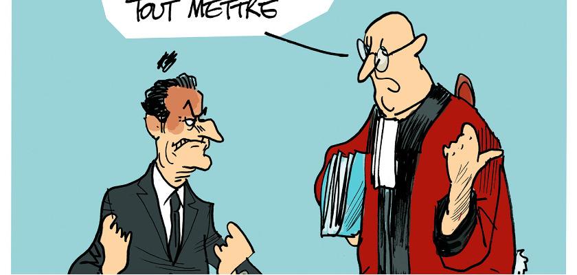Les dessins de la semaine : Sarkozy en visite chez les juges, Hollande reçoit les policiers