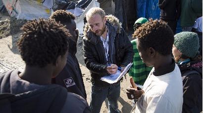 Politis soutient l'Auberge des migrants