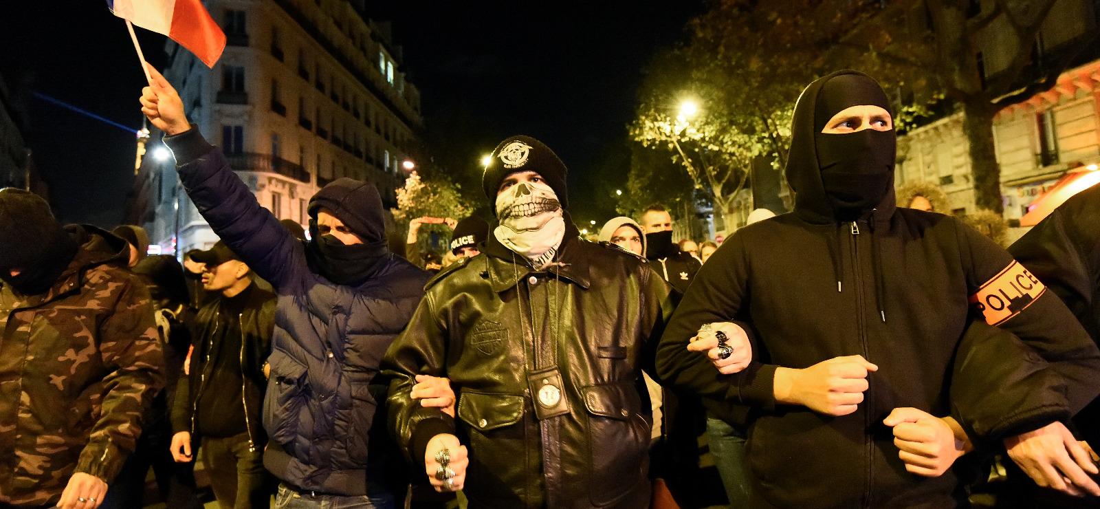 Une nuit avec les flics
