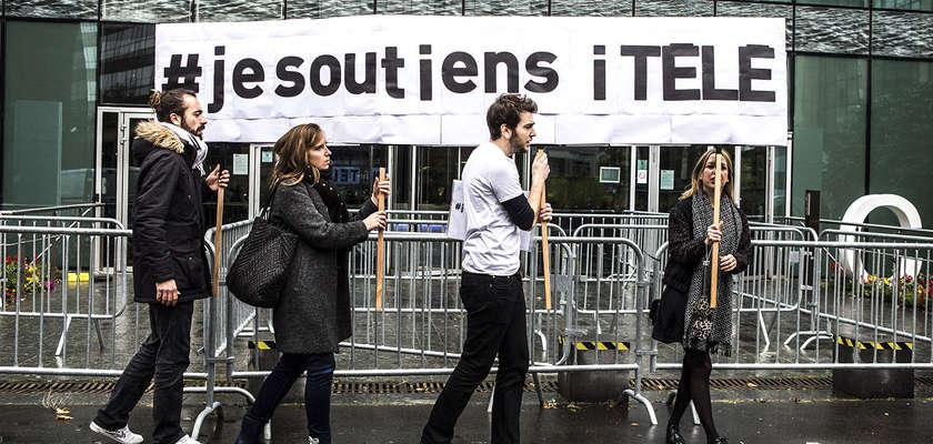 i-Télé : Dialogue de sourds