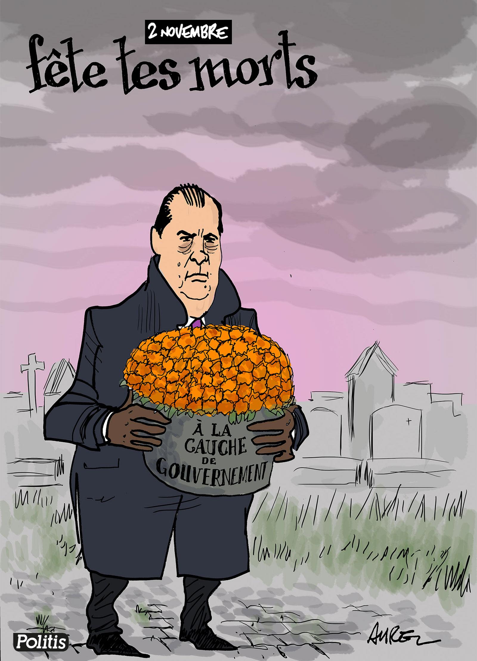 Les dessins de la semaine : Fête des morts et primaire de la droite